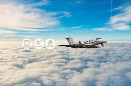 גשר אווירי- טיסות פרטיות במטוסי סילון פרטיים
